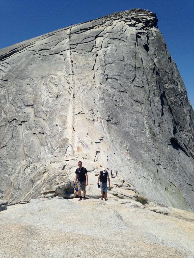 Half-dome-summit